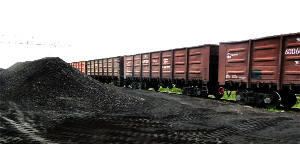 coal to russia