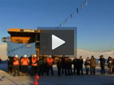 Ulaan Ovoo Mine Opening Ceremony